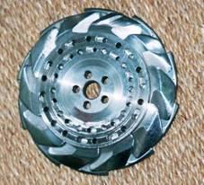 Разборный листоотделительный диск